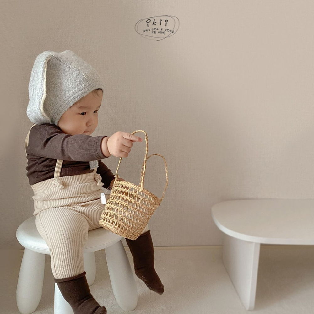 IKII - Korean Children Fashion - #Kfashion4kids - Gem Overall Leggings - 4