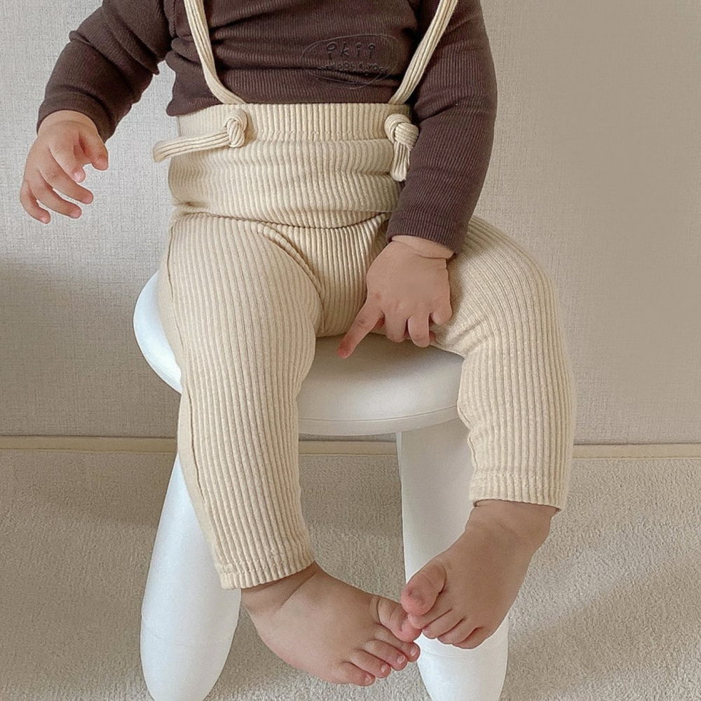 IKII - Korean Children Fashion - #Kfashion4kids - Gem Overall Leggings - 5