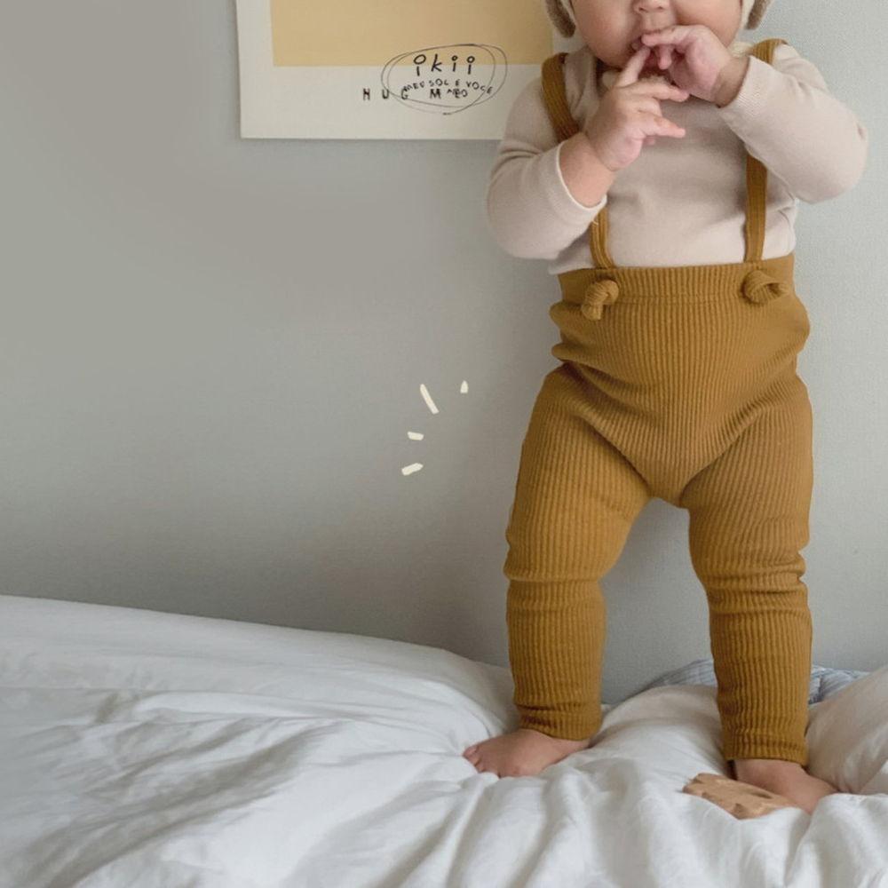 IKII - Korean Children Fashion - #Kfashion4kids - Gem Overall Leggings - 8