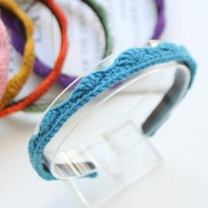 JIREH BOW - BRAND - Korean Children Fashion - #Kfashion4kids - Knit Tiara Hairband [set of 6]