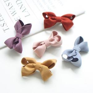 JIREH BOW - BRAND - Korean Children Fashion - #Kfashion4kids - Cuddle Ribbon Hairpin [set of 5]