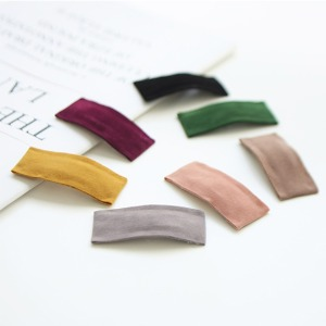 JIREH BOW - BRAND - Korean Children Fashion - #Kfashion4kids - Suede Square Hairpin [set of 7]