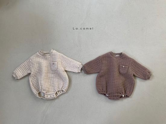 LA CAMEL - Korean Children Fashion - #Kfashion4kids - Bebe Cube Romper