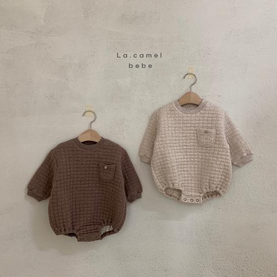 LA CAMEL - Korean Children Fashion - #Kfashion4kids - Bebe Cube Romper - 2