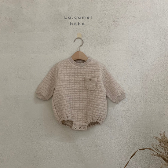 LA CAMEL - Korean Children Fashion - #Kfashion4kids - Bebe Cube Romper - 3