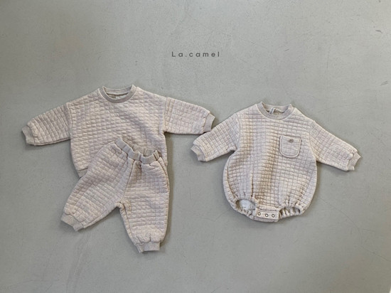 LA CAMEL - Korean Children Fashion - #Kfashion4kids - Bebe Cube Romper - 5