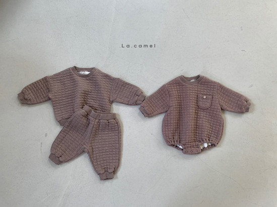 LA CAMEL - Korean Children Fashion - #Kfashion4kids - Bebe Cube Romper - 6