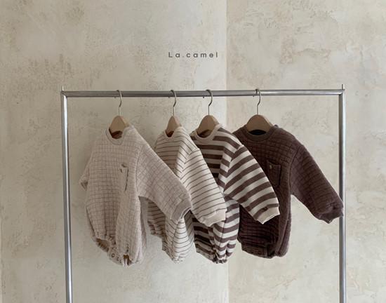 LA CAMEL - Korean Children Fashion - #Kfashion4kids - Bebe Cube Romper - 7