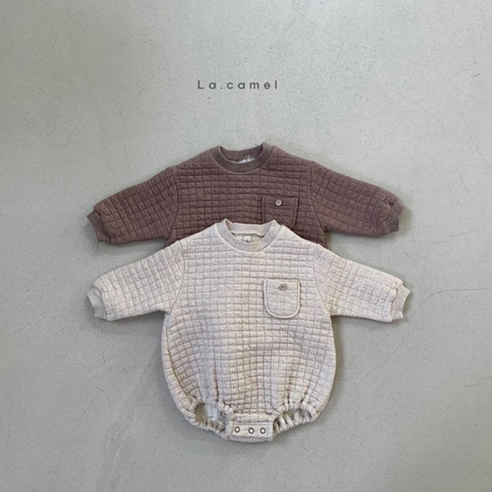 LA CAMEL - BRAND - Korean Children Fashion - #Kfashion4kids - Bebe Cube Romper