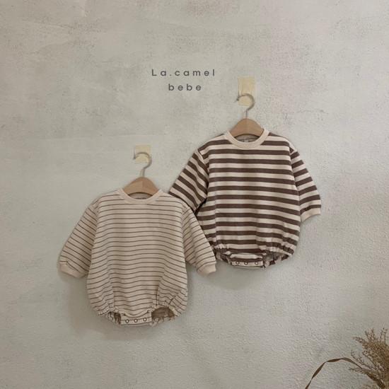 LA CAMEL - Korean Children Fashion - #Kfashion4kids - Bebe Choco Overalls - 2