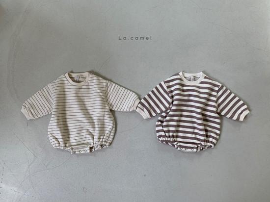 LA CAMEL - Korean Children Fashion - #Kfashion4kids - Bebe Choco Overalls - 4