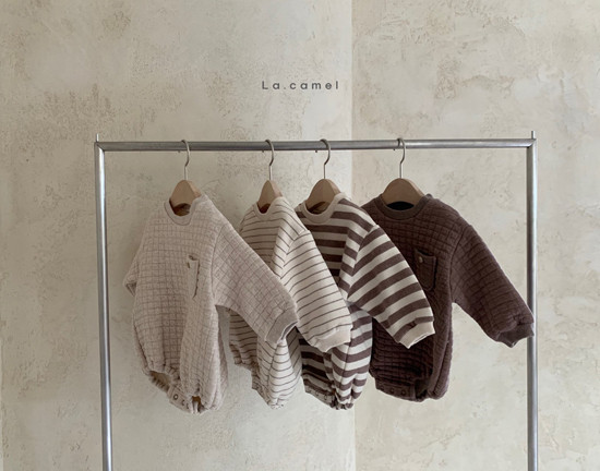LA CAMEL - Korean Children Fashion - #Kfashion4kids - Bebe Choco Overalls - 5