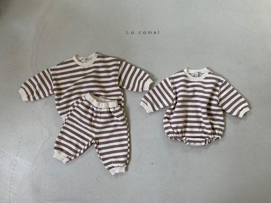 LA CAMEL - Korean Children Fashion - #Kfashion4kids - Bebe Choco Overalls - 7