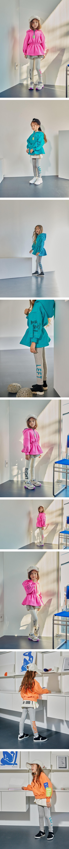 LILAS - Korean Children Fashion - #Kfashion4kids - Right Left Leggings - 2