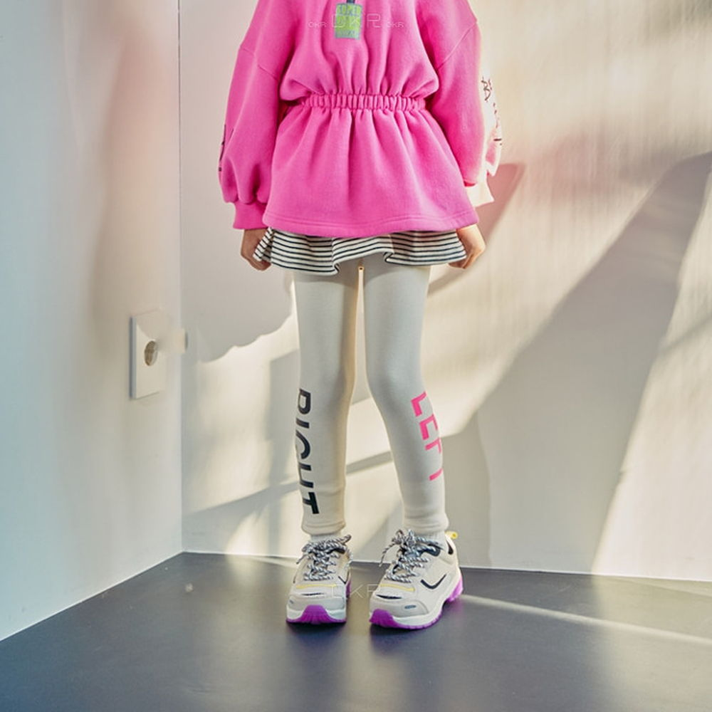 LILAS - BRAND - Korean Children Fashion - #Kfashion4kids - Right Left Leggings