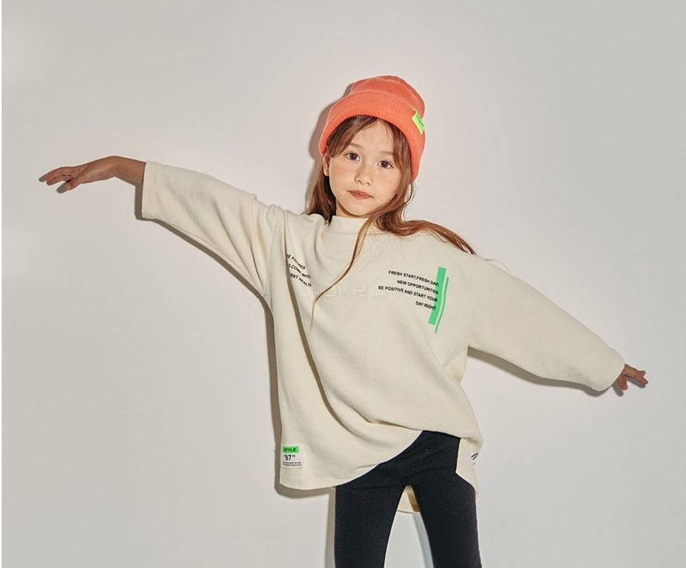 LILAS - Korean Children Fashion - #Kfashion4kids - Good Time Long Tee