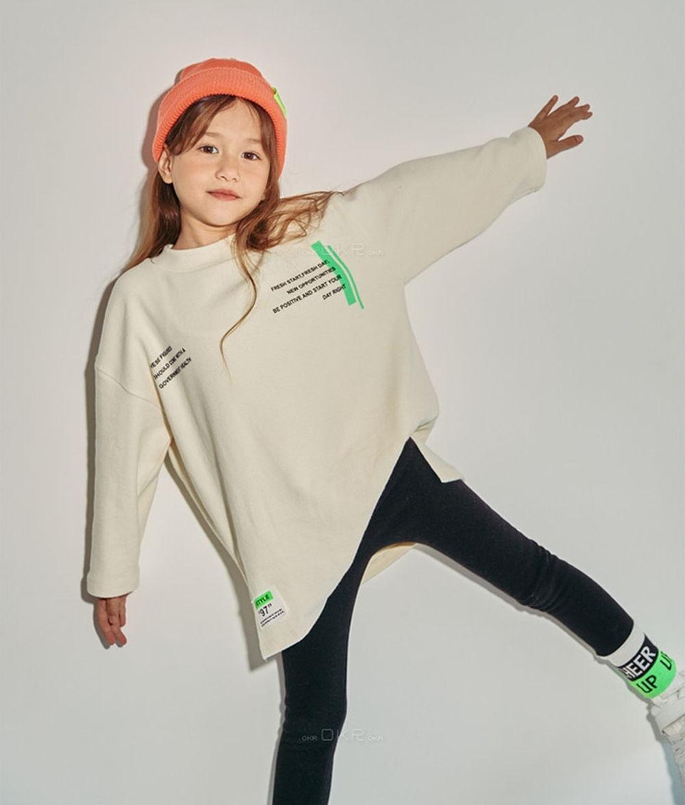 LILAS - BRAND - Korean Children Fashion - #Kfashion4kids - Good Time Long Tee
