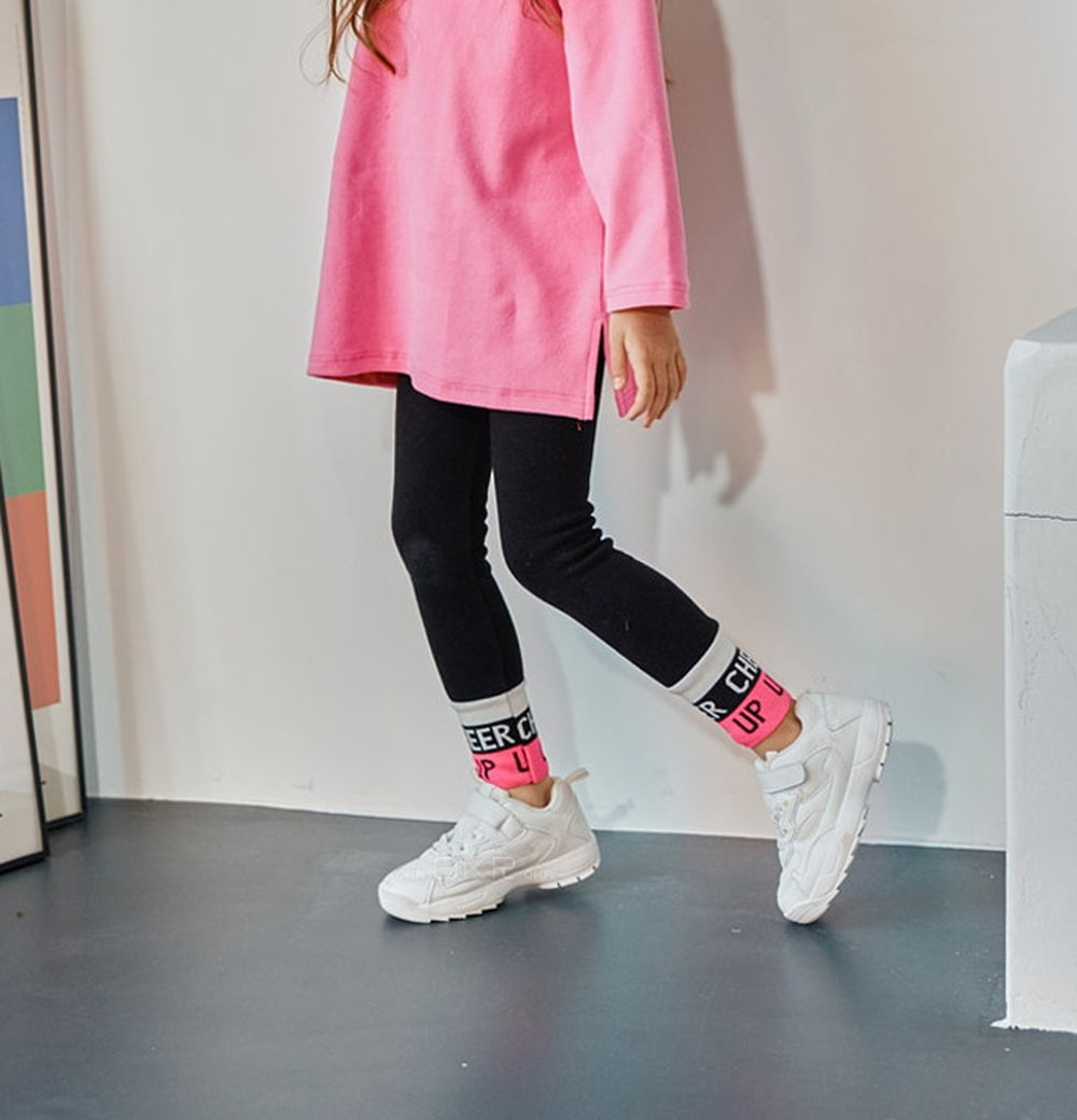 LILAS - BRAND - Korean Children Fashion - #Kfashion4kids - Cheer Up Leggings