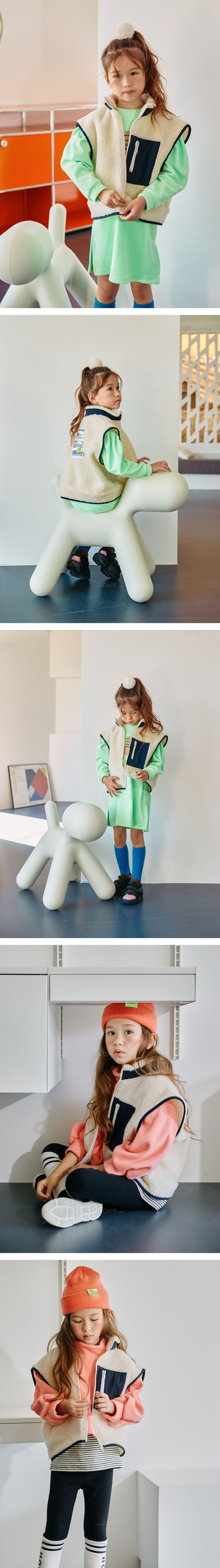 LILAS - Korean Children Fashion - #Kfashion4kids - Lucky Dumble Vest - 2