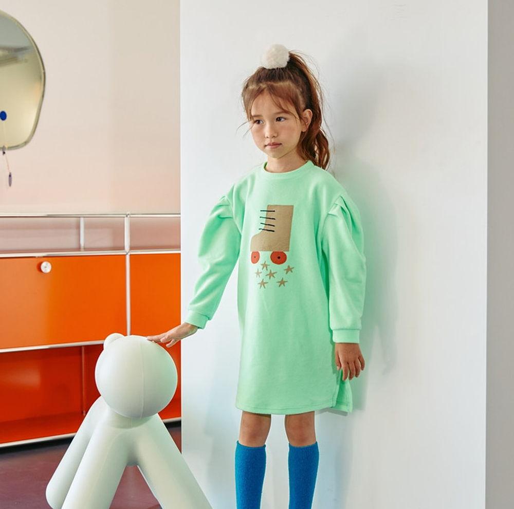 LILAS - Korean Children Fashion - #Kfashion4kids - Rolla Volume Long Tee