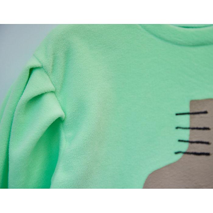 LILAS - Korean Children Fashion - #Kfashion4kids - Rolla Volume Long Tee - 4