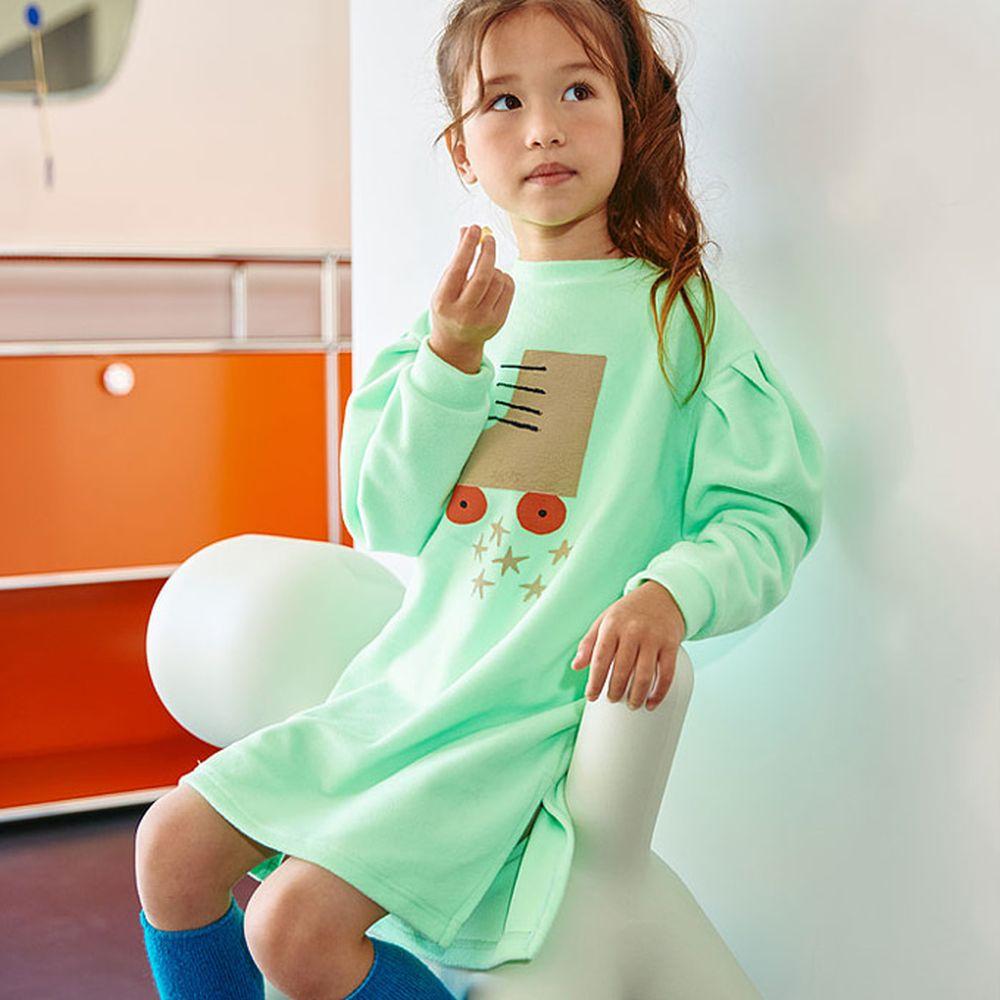 LILAS - BRAND - Korean Children Fashion - #Kfashion4kids - Rolla Volume Long Tee