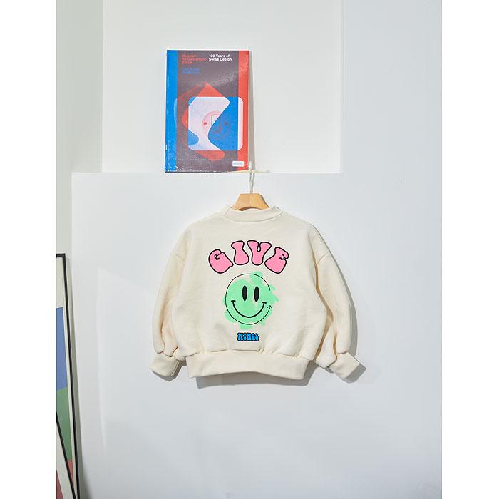 LILAS - Korean Children Fashion - #Kfashion4kids - Smile Sweatshirt - 3