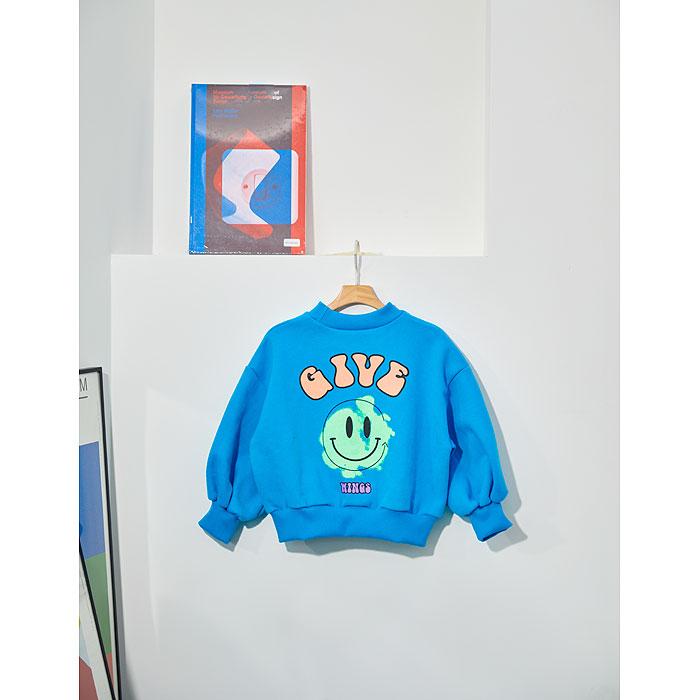 LILAS - Korean Children Fashion - #Kfashion4kids - Smile Sweatshirt - 4