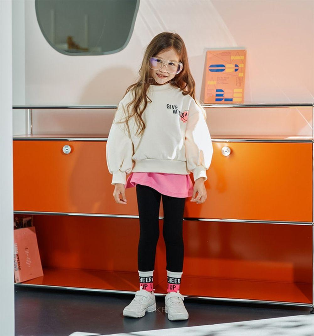 LILAS - BRAND - Korean Children Fashion - #Kfashion4kids - Smile Sweatshirt