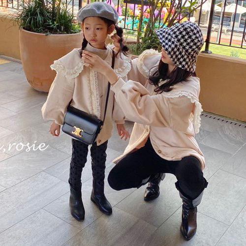 LOVE ROSIE - BRAND - Korean Children Fashion - #Kfashion4kids - Coco Lace Cardigan with Mom