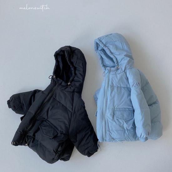 MELONSWITCH - Korean Children Fashion - #Kfashion4kids - Latte Short Padding