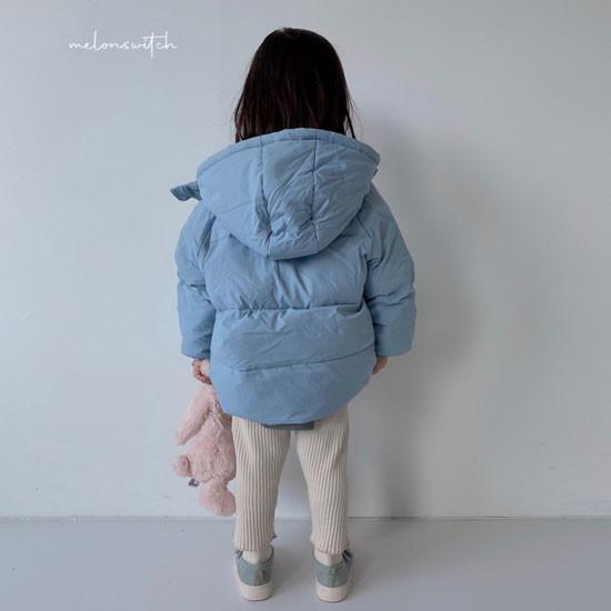 MELONSWITCH - Korean Children Fashion - #Kfashion4kids - Latte Short Padding - 9