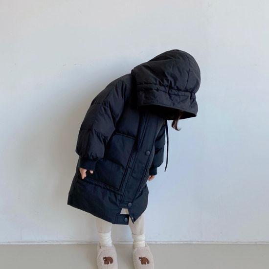 MELONSWITCH - Korean Children Fashion - #Kfashion4kids - Fresh Cream Duck Padding Jumper - 10