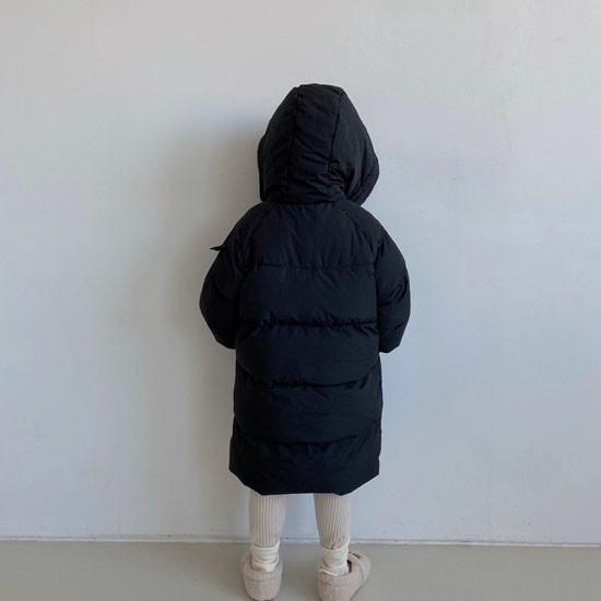MELONSWITCH - Korean Children Fashion - #Kfashion4kids - Fresh Cream Duck Padding Jumper - 11