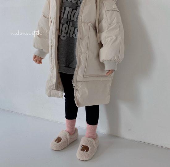 MELONSWITCH - Korean Children Fashion - #Kfashion4kids - Fresh Cream Duck Padding Jumper - 5