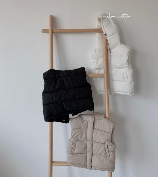 MELONSWITCH - Korean Children Fashion - #Kfashion4kids - Tofu Padding Vest
