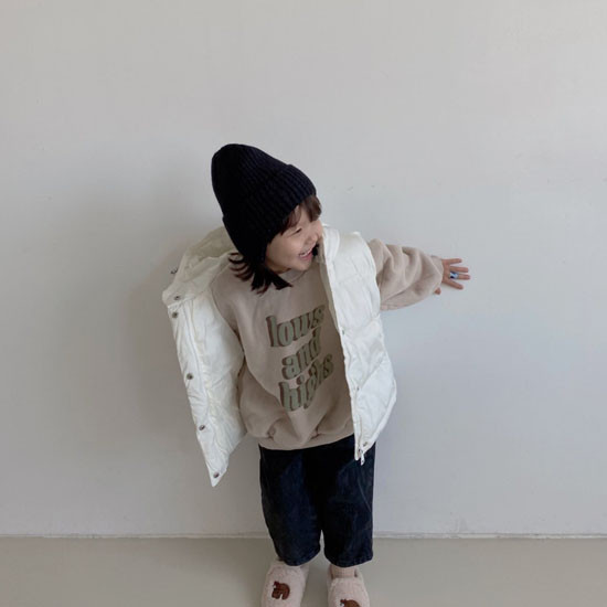 MELONSWITCH - Korean Children Fashion - #Kfashion4kids - Tofu Padding Vest - 10