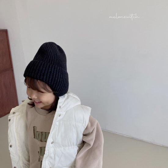 MELONSWITCH - Korean Children Fashion - #Kfashion4kids - Tofu Padding Vest - 11
