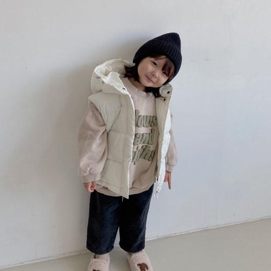 MELONSWITCH - Korean Children Fashion - #Kfashion4kids - Tofu Padding Vest - 12