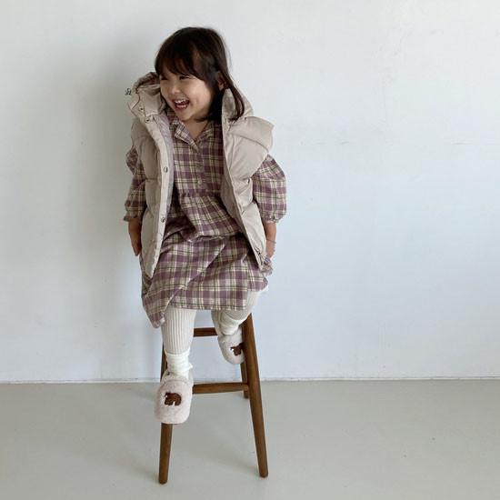 MELONSWITCH - Korean Children Fashion - #Kfashion4kids - Tofu Padding Vest - 9