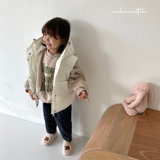 MELONSWITCH - BRAND - Korean Children Fashion - #Kfashion4kids - Tofu Padding Vest