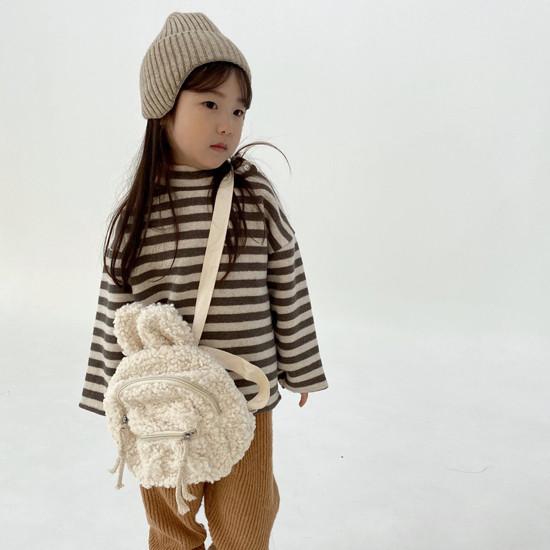 MELONSWITCH - Korean Children Fashion - #Kfashion4kids - Button Turtleneck Sweatshirt - 3