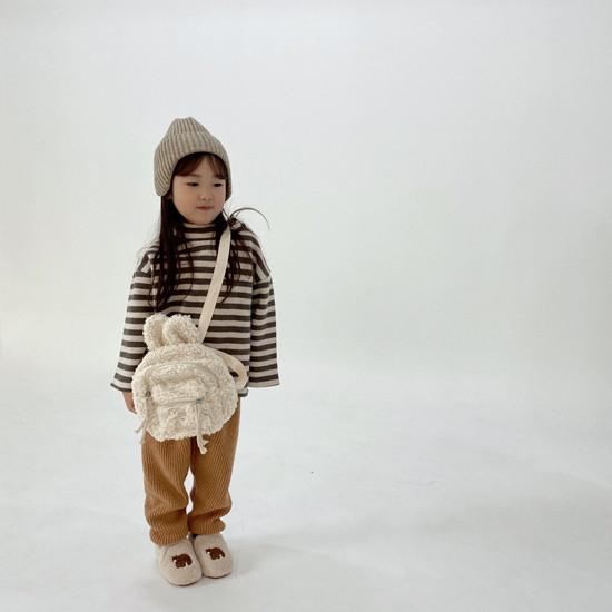 MELONSWITCH - Korean Children Fashion - #Kfashion4kids - Button Turtleneck Sweatshirt - 5