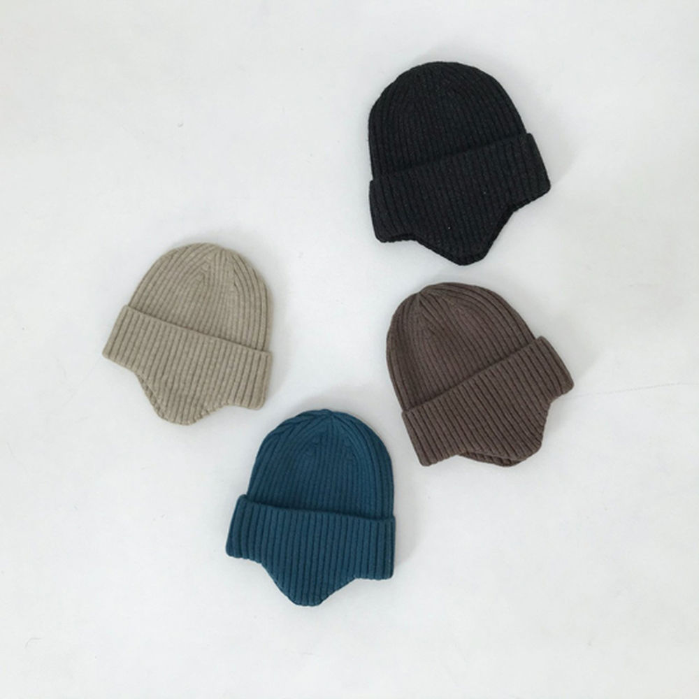 MELONSWITCH - BRAND - Korean Children Fashion - #Kfashion4kids - Soft Knit Hat