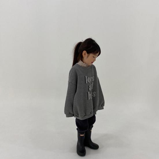 MELONSWITCH - Korean Children Fashion - #Kfashion4kids - High Long Sweatshirt - 11