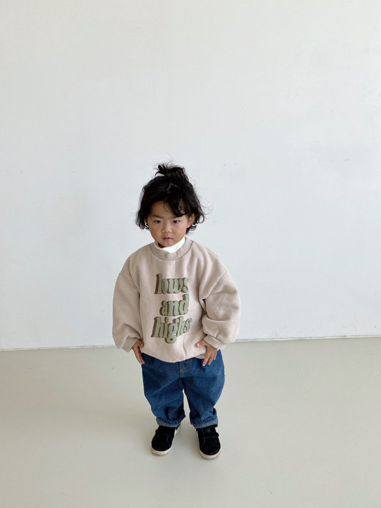 MELONSWITCH - Korean Children Fashion - #Kfashion4kids - High Long Sweatshirt - 4