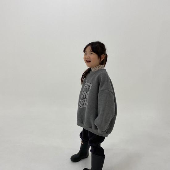 MELONSWITCH - Korean Children Fashion - #Kfashion4kids - High Long Sweatshirt - 5