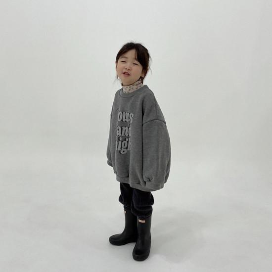 MELONSWITCH - Korean Children Fashion - #Kfashion4kids - High Long Sweatshirt - 6
