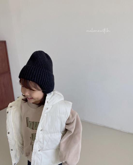 MELONSWITCH - Korean Children Fashion - #Kfashion4kids - High Long Sweatshirt - 7