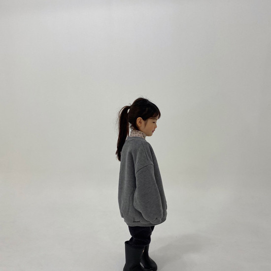 MELONSWITCH - Korean Children Fashion - #Kfashion4kids - High Long Sweatshirt - 8